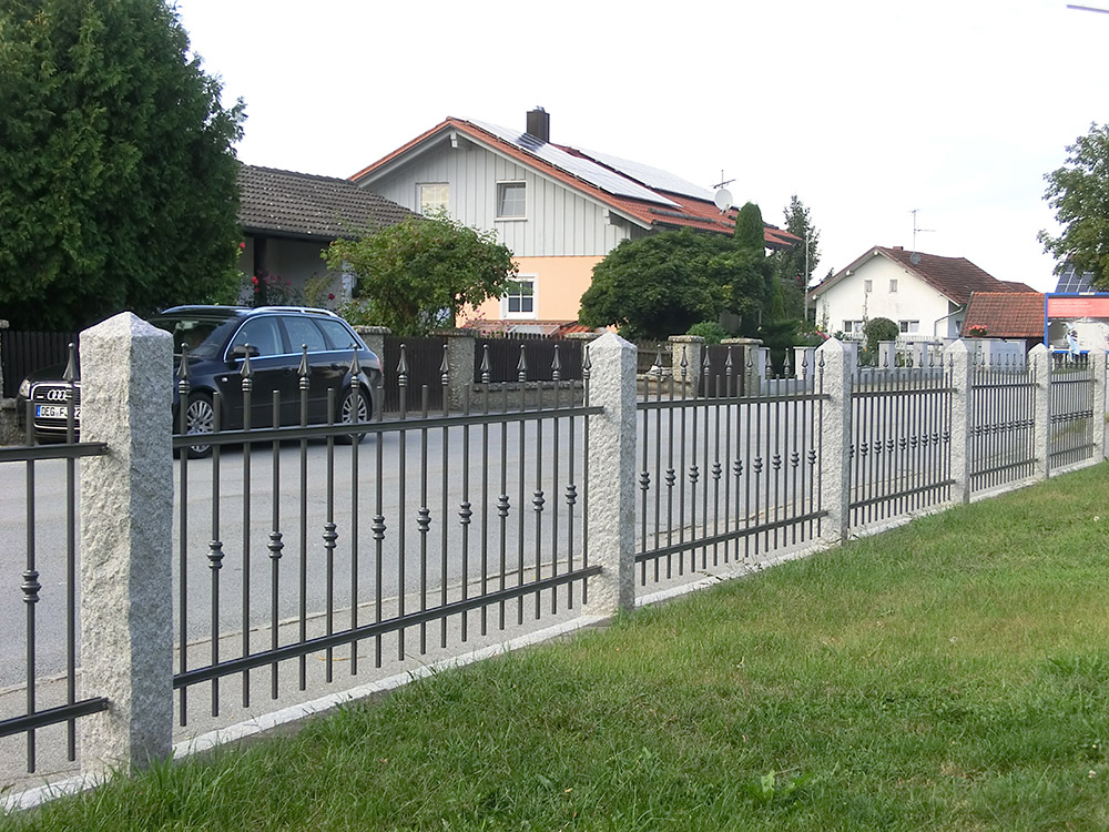 Gartenzune aus metall wohnzimmer random de wohnzimmer silber streichen de home design with - Gartenzaun metall gebraucht ...