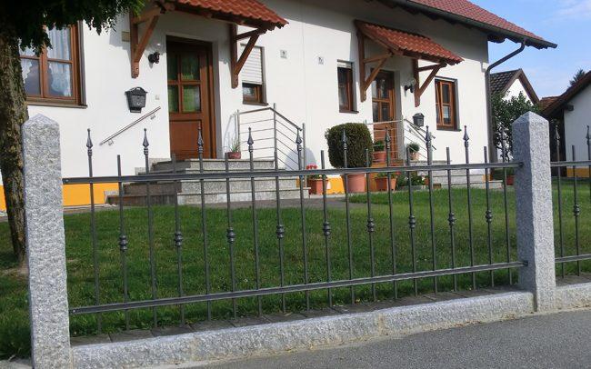 Metallbau Vilshofen Gartenzaun
