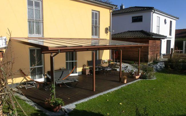 Überdachung für Terrasse in Vilshofen