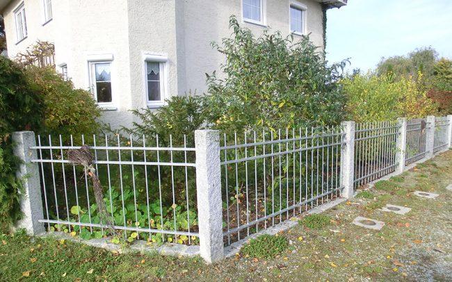 Edelstahl Gartenzaun in Deggendorf von Metallbau Jakob